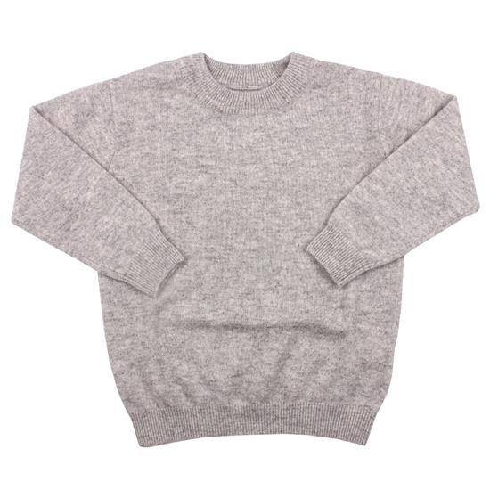 miyio 儿童羊绒衫婴幼儿宝宝羊毛衫毛衣冬装衣服100%山羊绒图片