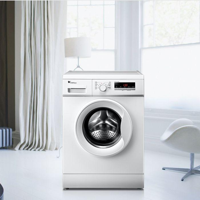 小天鹅滚筒洗衣机不排水,显示e21,门打不开!