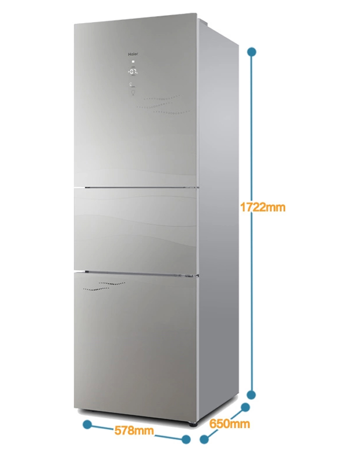 海尔 231升三门冰箱