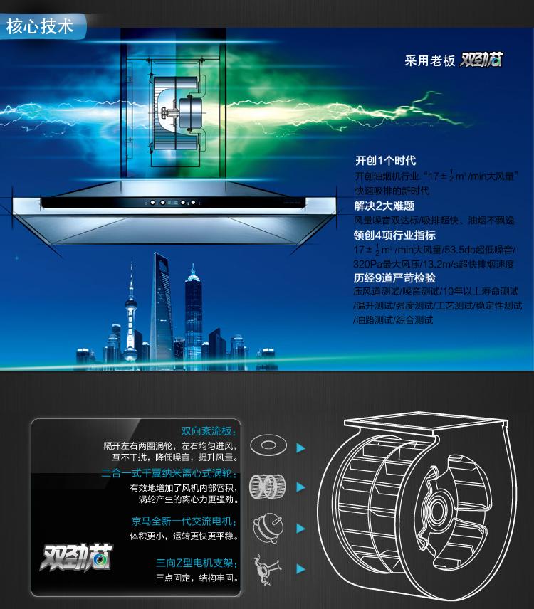 老板时尚欧式大吸力三件套cxw-200-8008 jz(y/t/r)-9b19 757n
