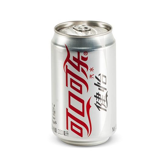 可口可乐-可口可乐汽水 健怡可乐 330ml/罐 听装 碳酸饮料