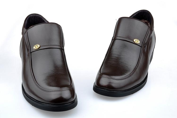 苹果apple 头层牛皮商务休闲经典男士棉鞋89906265