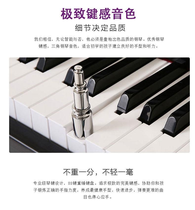 壹枱(the one)|乐器,-壹枱the one智能钢琴 黑色-赠琴