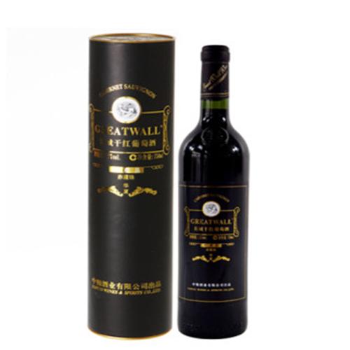 长城|葡萄酒,-长城 华夏长城珍藏(94圆筒)干红葡萄酒