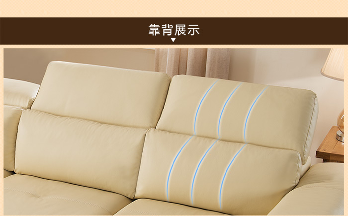 柏歌|沙发,-柏歌 头层皮舒适多功能沙发床