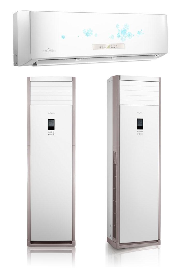 变频空调1.5匹挂机+3匹柜机组合