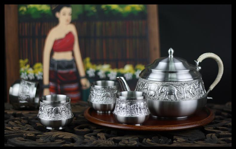 有传统典雅的欧式酒具