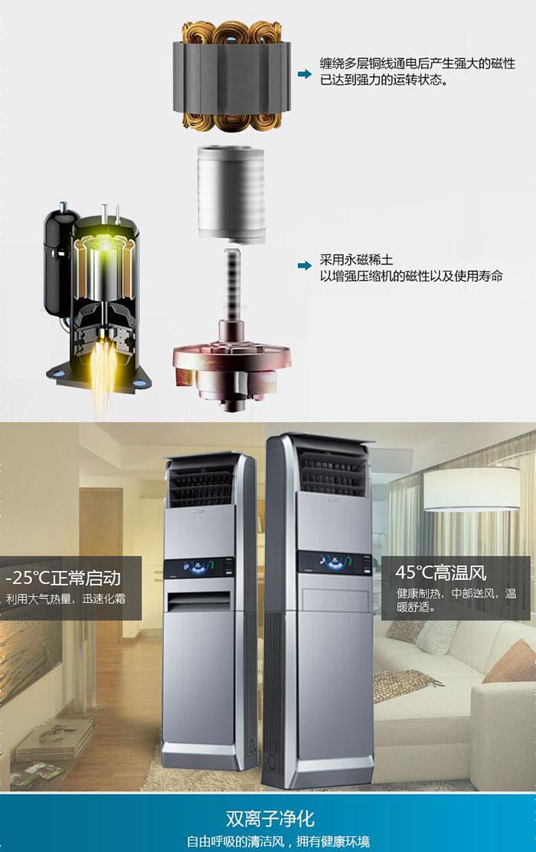 松下(panasonic) 空调 原装变频压缩机 3匹全直流一级变频柜式空调