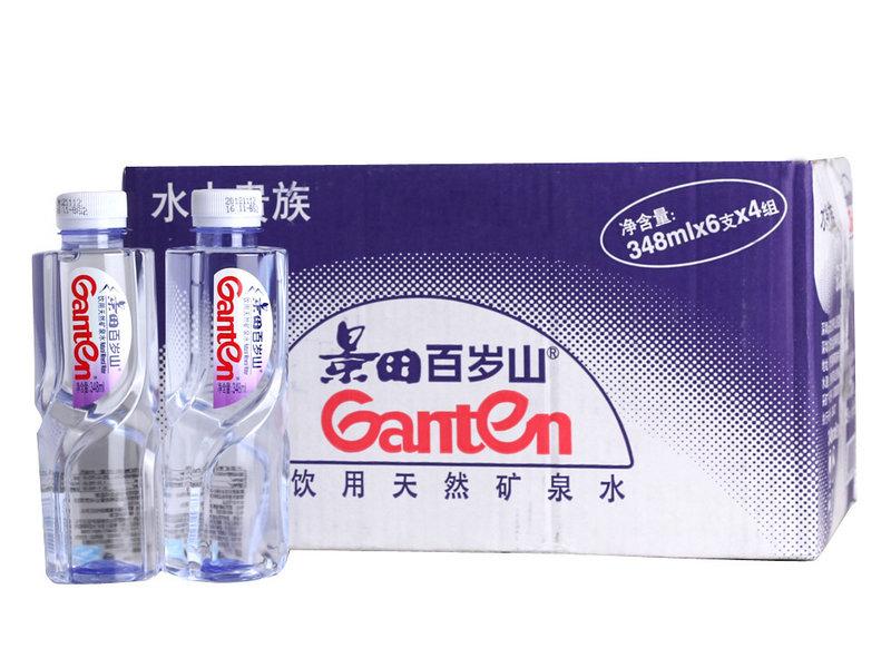 百岁山 矿泉水348ml*24瓶2箱装