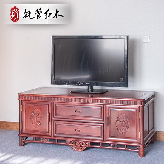 航管《琴棋书画》巴里黄檀红木家具 电视柜