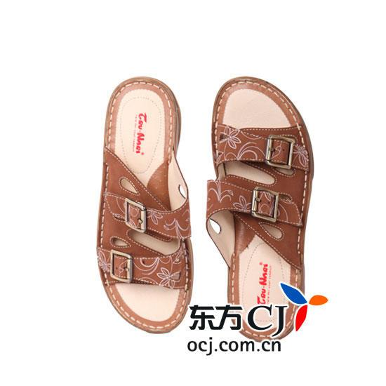 奥卡索 (tru-nari)牛皮女凉鞋(舒适款)