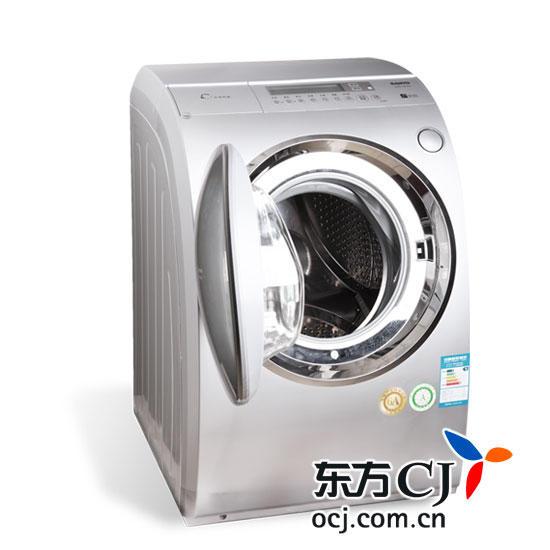三洋6公斤带空气洗斜式滚筒洗衣机xqg60-l932cxs(原价