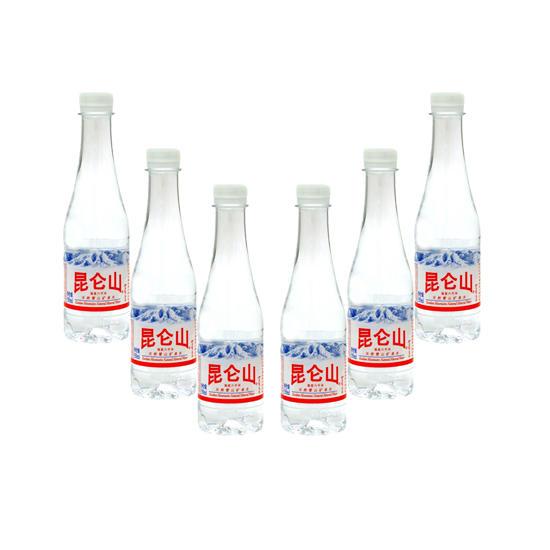 昆仑山天然雪山矿泉水350ml*24瓶家庭装