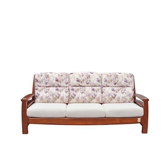 依洛歌系列实木沙发3r[11307-1布](j2557a)