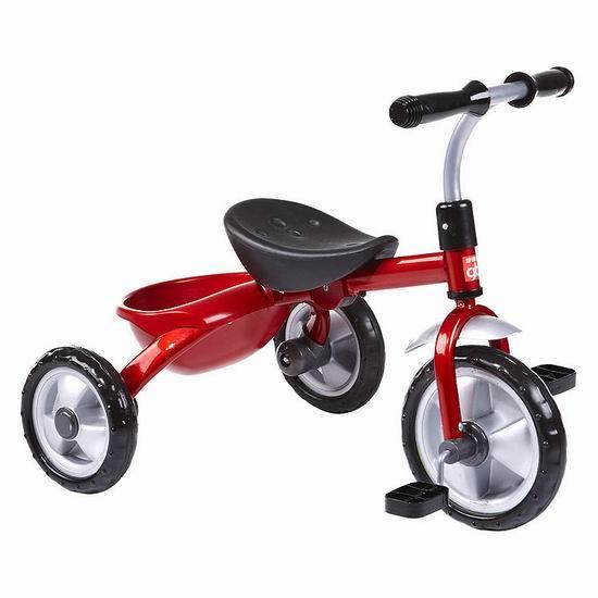 儿童骑自行车简笔画