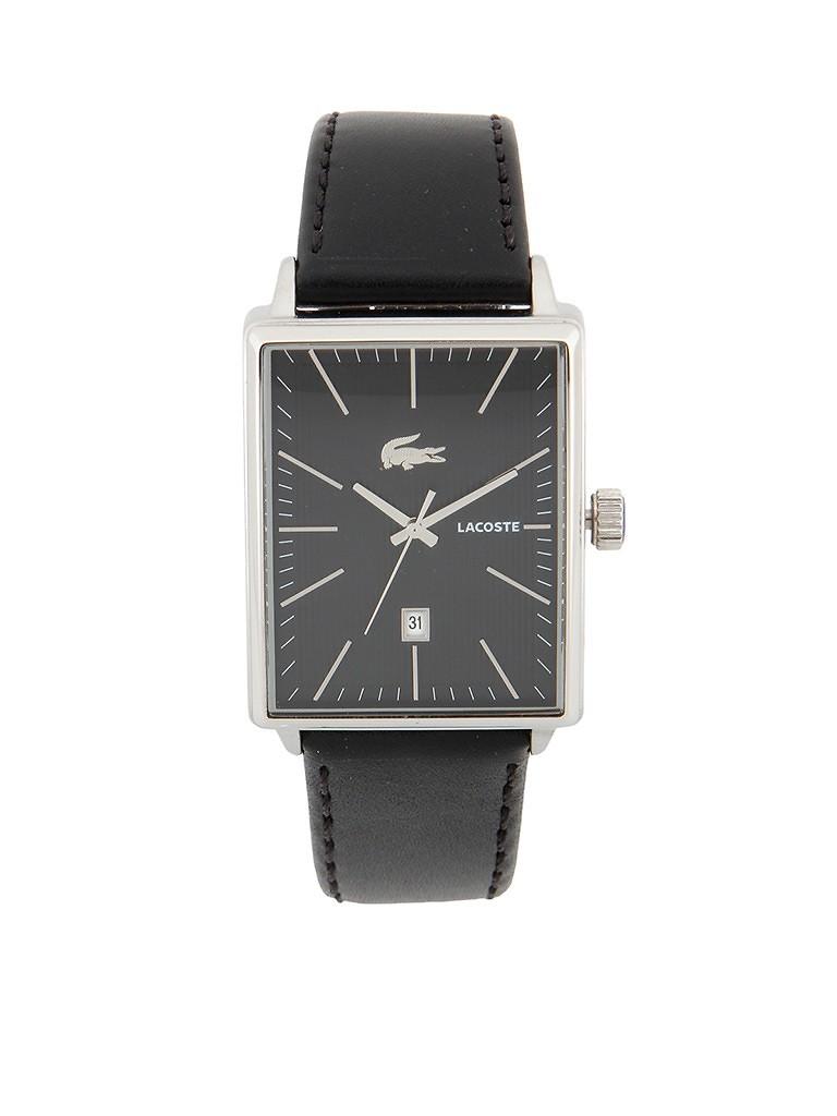 lacoste长方形表盘指针式男士手表