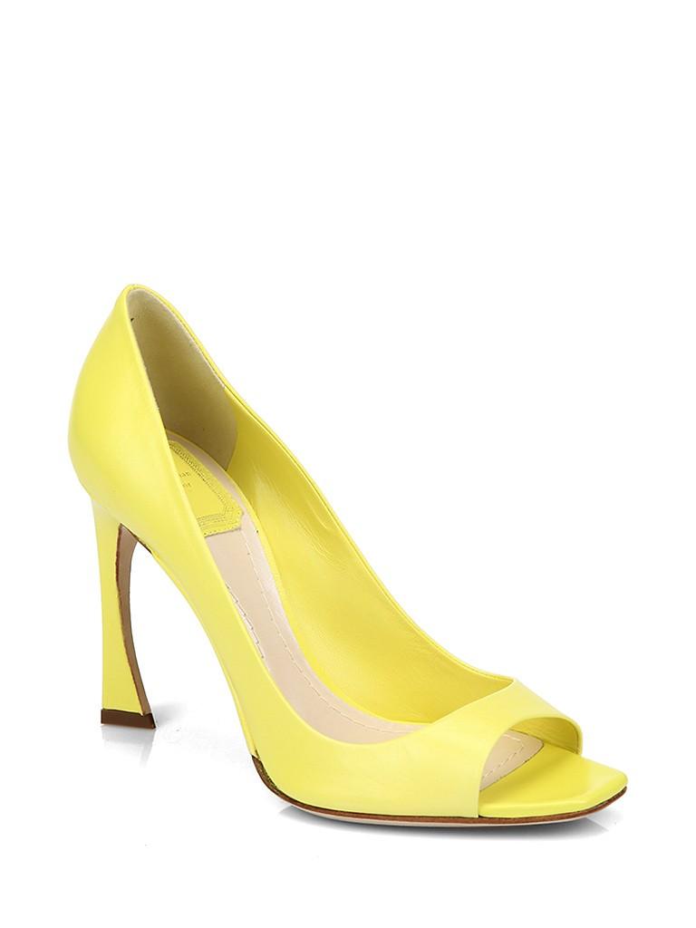 dior迪奥牛皮材质简约女士凉鞋