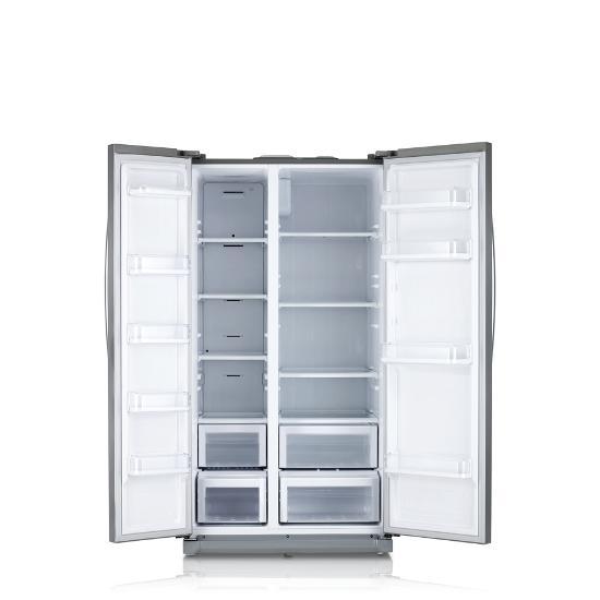 三星 对开门冰箱 rs542ncaeww图片