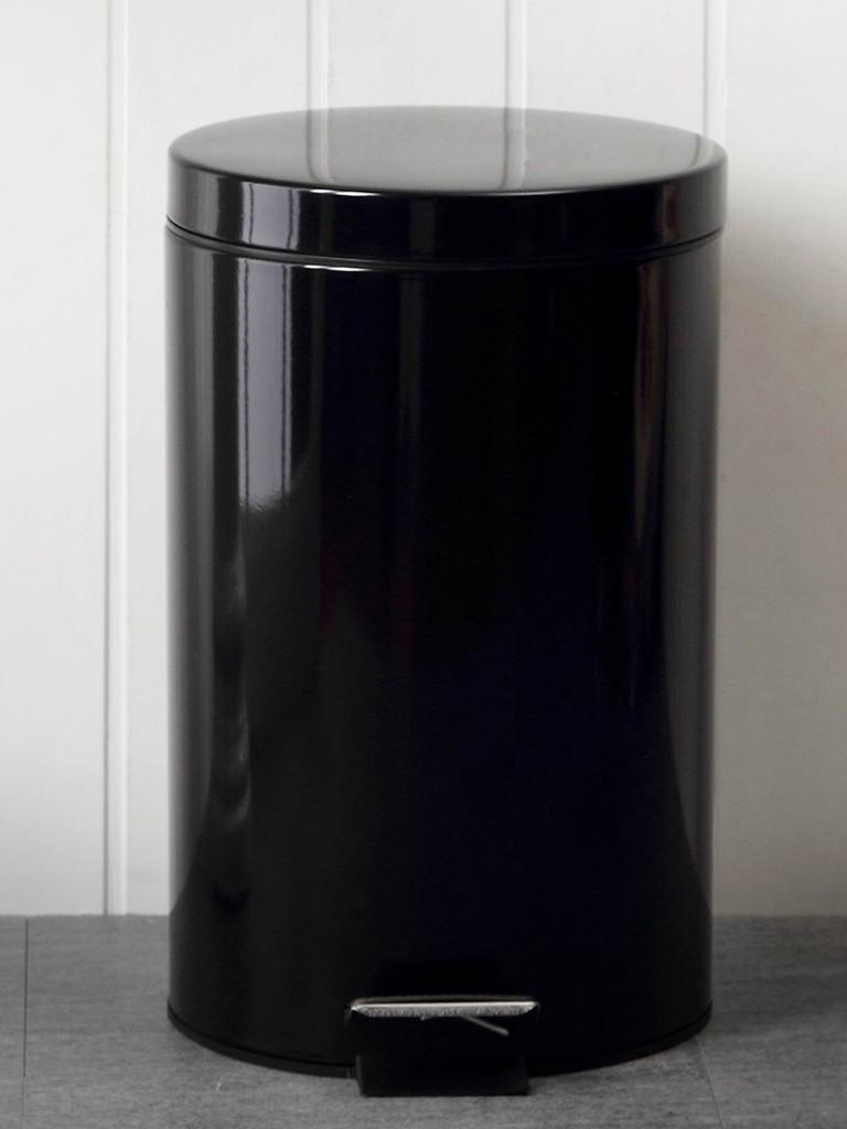 欧润哲x时尚欧式圆形家用脚踏垃圾桶