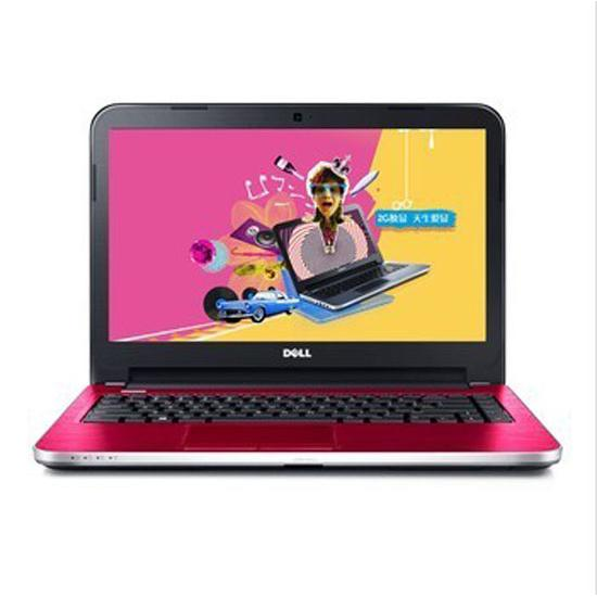 戴尔 笔记本电脑 ins14rr-4526r 14寸led(红色)(i5-4200u/内存4g/硬盘