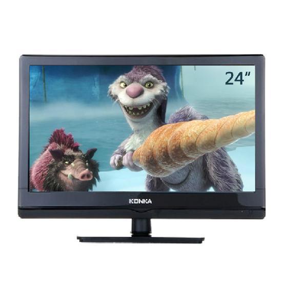 康佳led24f2210ce超窄边框 液晶电视 小板全能王带底座
