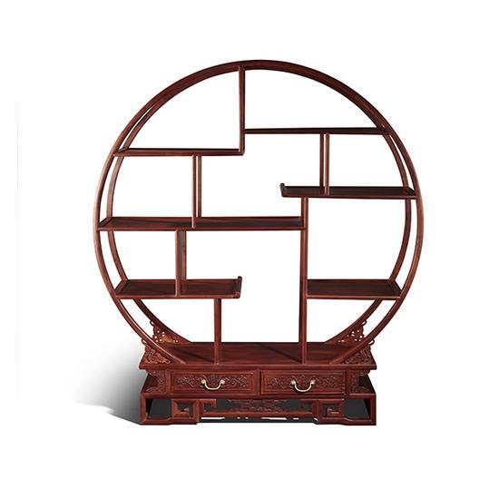 漆木圆多宝格--东方购物