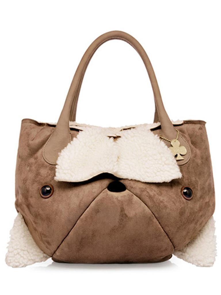 artmi女士pu秋冬新款韩版甜美可爱小熊软面包手提包