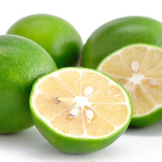 绿柠檬手绘图片