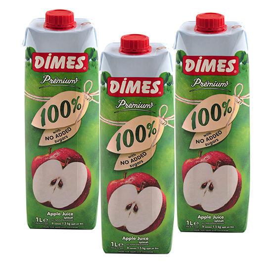 土耳其进口帝姆斯精品菠萝汁+苹果汁+提子芒果汁+葡萄汁12罐装