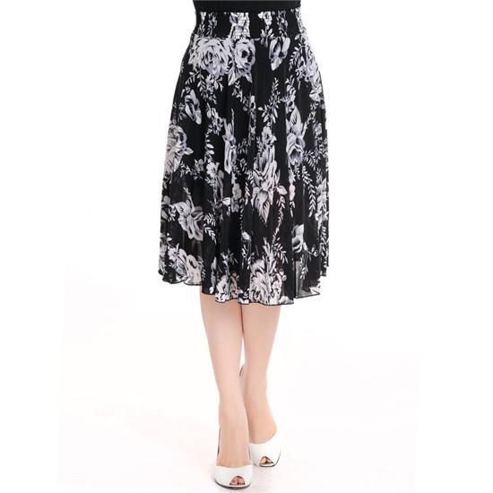 菠斯猫女士夏季清凉印花单裙1113b